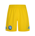 2017-2018 Napoli Kappa Away Shorts (Yellow)