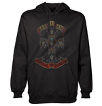 Guns N' Roses Men's Pullover Hoodie: Appetite for Destruction