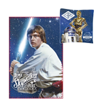 Star Wars Pillow & Fleece Blanket Set Luke Skywalker & C-3PO & R2-D2