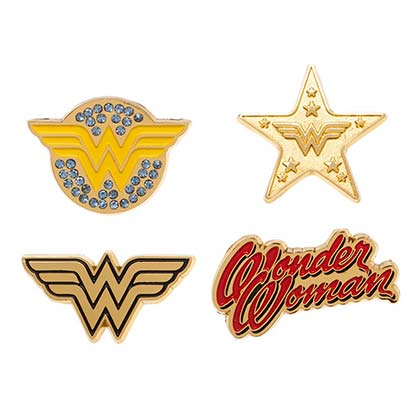 WONDER WOMAN Lapel Pin Set