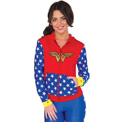 WONDER WOMAN Fitted Hoodie