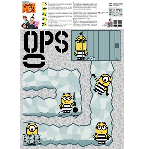 Despicable me - Minions Wall Stickers 274262