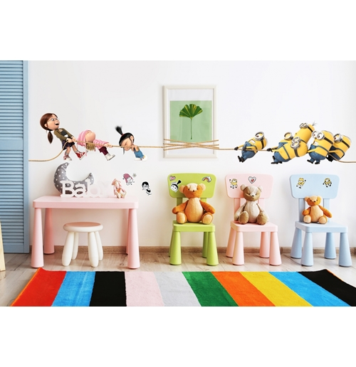 Despicable me - Minions Wall Stickers 274267
