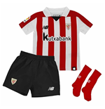 2017-2018 Athletic Bilbao Home Little Boys Mini Kit