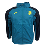 2017-2018 Villarreal Joma Official Rainjacket (Blue)