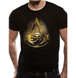 Assassin's Creed Origins T-Shirt Gold Hieroglyphs