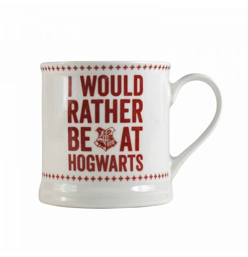 Harry Potter Mug Vintage Hogwarts Slogan