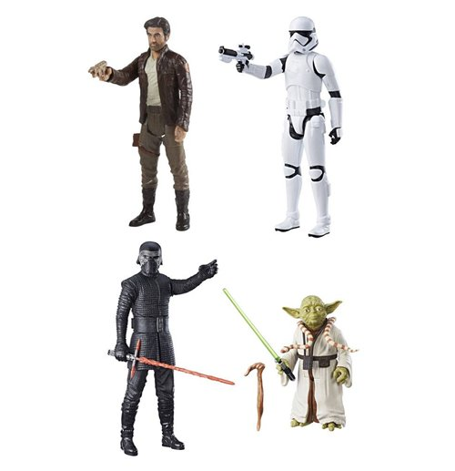 Star Wars Episode VIII Hero Series Action Figures 30 cm 2017 Assortment (8)