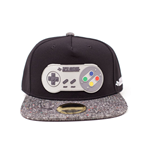 NINTENDO Super Nintendo Controller Rubber Patch Snapback Baseball Cap, One Size, Multi-colour
