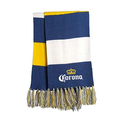 Corona Striped Spectator Scarf