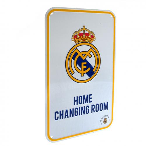Real Madrid F.C. Home Changing Room Sign