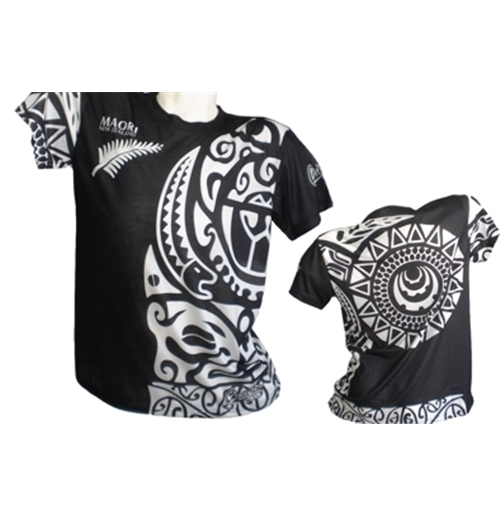 All Blacks T-shirt Tribal