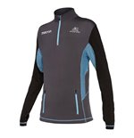 2017-2018 Glasgow Warriors Rugby Performance Softshell Half Zip Top (Black)