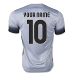 2015-16 Roma 3rd Shirt (Your Name)