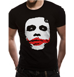 The Dark Knight - Joker Big Face - Unisex T-shirt Black