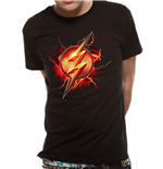 Justice League Movie - Flash Symbol - Unisex T-shirt Black