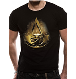 Assassins Creed Origins - Gold Hieroglyph - Unisex T-shirt Black