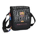 Barcelona FC shoulder bag 17 Black