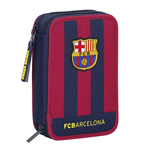 Barcelona FC pencil case double filled 2015