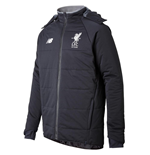 2017-2018 Liverpool Elite Stadium Jacket (Black) - no sponsor