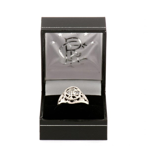 Rangers F.C. Sterling Silver Ring Small