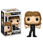Metallica POP! Rocks Vinyl Figure Lars Ulrich 9 cm
