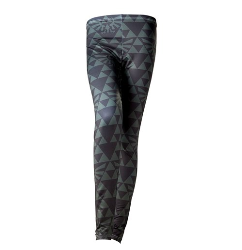 The Legend Of Zelda - Zelda Green Black Hyrule Grey leggings