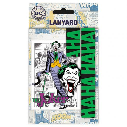 Batman Lanyard & Keyring Set Joker