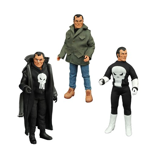 Marvel Retro Action Figure The Punisher Limited Edition Collector Set 20 cm