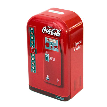 COCA-COLA Retro Style Coin Bank