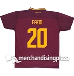 AS Roma Home 2017/2018 Replica Jersey Fazio 20