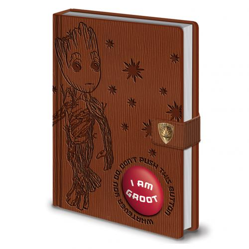 Guardians Of The Galaxy 2 Audio Notebook Groot