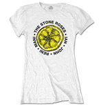 The Stone Roses Ladies Tee: Lemon Names