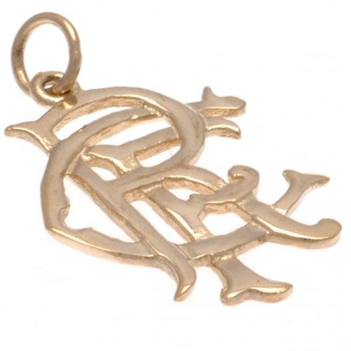 Rangers F.C. 9ct Gold Pendant Small