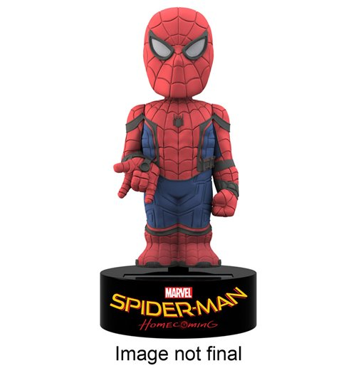 Spider-Man Homecoming Body Knocker Bobble-Figure Spider-Man 15 cm