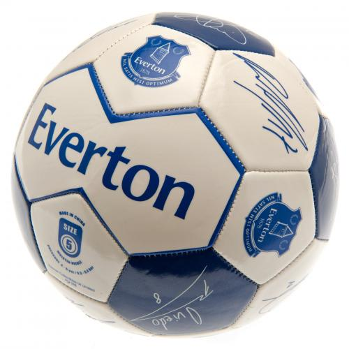 Everton F.C. Football Signature