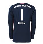 2016-17 Bayern Munich Home Goalkeeper Shirt (Neuer 1) - Kids