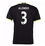 2016-17 Chelsea Away Shirt (Alonso 3) - Kids