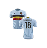 2016-2017 Belgium Away Shirt (Nainggolan 18)