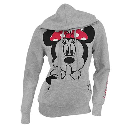 Minnie Mouse Grey Women's Hoodie