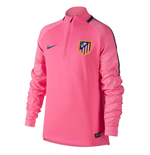 2017-2018 Atletico Madrid Nike Drill Top (Laser Pink) - Kids