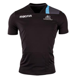 2017-2018 Glasgow Warriors Rugby Training Tee (Black)