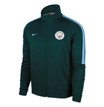 2017-2018 Man City Nike Authentic Franchise Jacket (Outdoor Green)