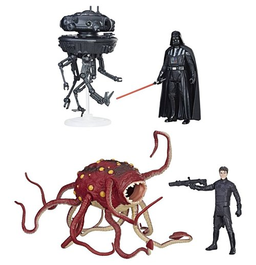 Star Wars Force Link Class A Vehicles & Creatures with Figures 2017 Wave 1 Assortment (4)