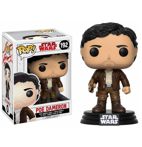 Star Wars Episode VIII POP! Vinyl Bobble-Head Poe Dameron 9 cm