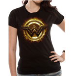 Justice League Movie Ladies T-Shirt Wonder Woman Symbol