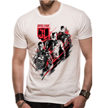Justice League Movie T-Shirt Distortion
