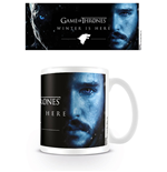 Game of Thrones Mug Winter Is Here - Jon