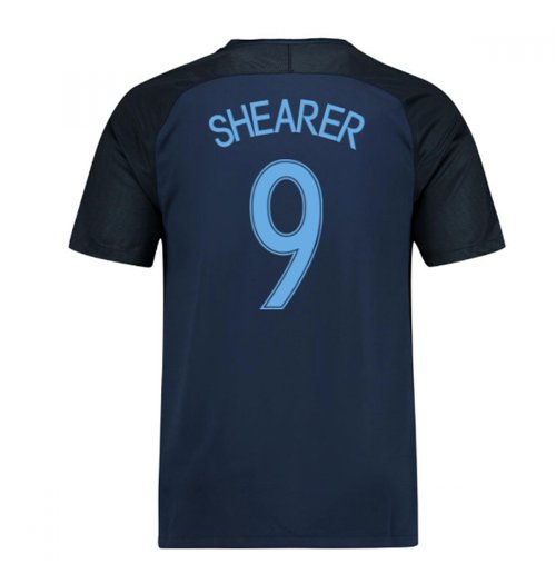 2017-18 England Away Shirt (Shearer 9) - Kids
