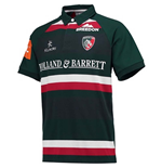 2017-2018 Leicester Tigers Home Classic Rugby Shirt